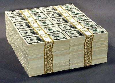 1 million dollar prop money stack