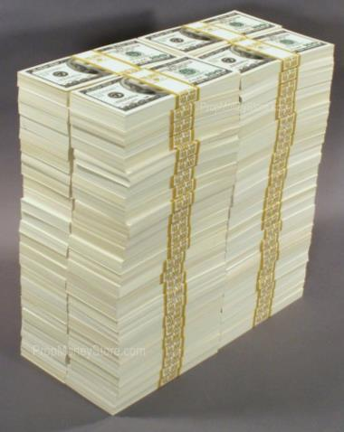 What does 3 million dollars look like