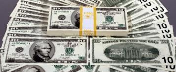 $10 bill style full money bundle
