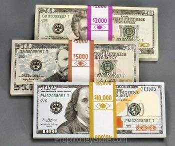 prop denomination mix $17k
