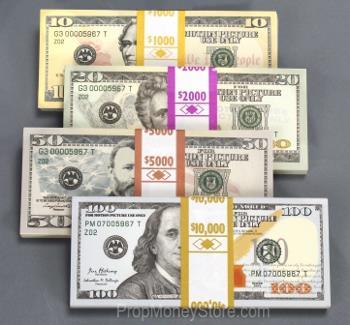 prop money mix $18k