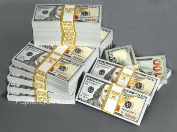 Shop Our Prop Money Catalog - From Single Stacks to Pallets!