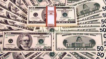 $50 bill style full money bundle