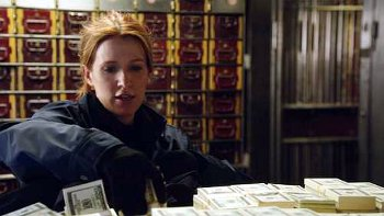 Unforgettable money vault scene