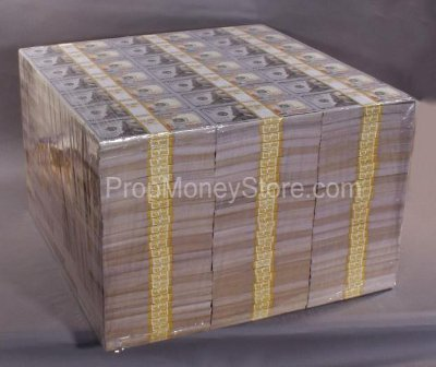 Truck Bed Dimensions >> Prop Money Stacks & Piles - Dimensions & Measurements