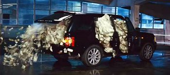 suv full of prop money explodes