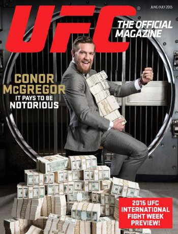 UFC Magazine Money Cover